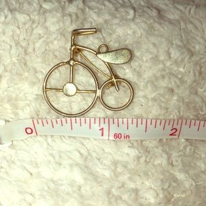 Vintage gold like bike
